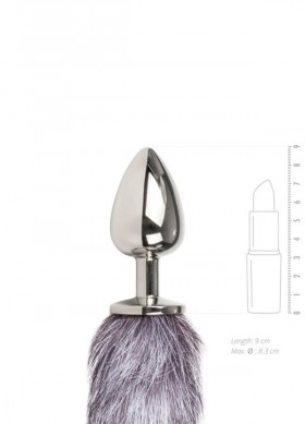 plug-anale-con-coda-di-volpe-9-cm-fox-tail-n-4-sexy-shop-rossetto-verde