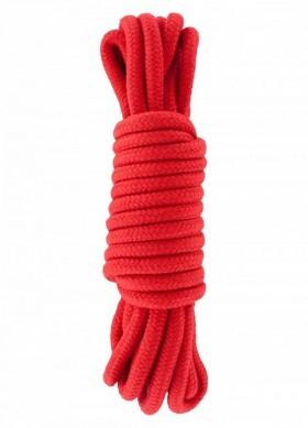 corda bondage in cotone rossa 5 mt