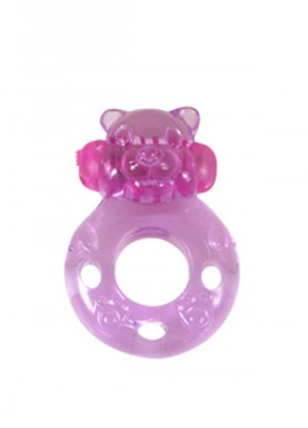 anello vibrante silicone ring bear